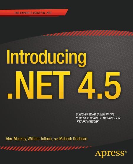 Introducing Net 4 5