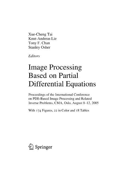 Mathematics and visualization
