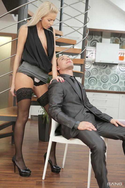 Karol Lilien - Blonde Karol Lilien Gets Fucked In Romantic Porn Session. (2021 Bang! Glamkore Bang.com) [FullHD   1080p  1.38 Gb]