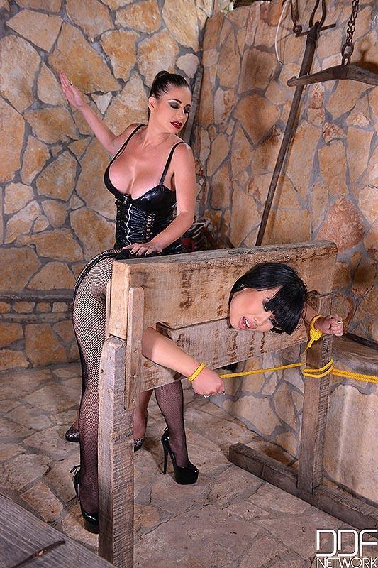 Tigerr Benson - Prisoner Humiliation - Milfs Cram Pussy, Ass With Strap-On (2021 HouseOfTaboo.com DDFNetwork.com) [HD   720p  1.65 Gb]