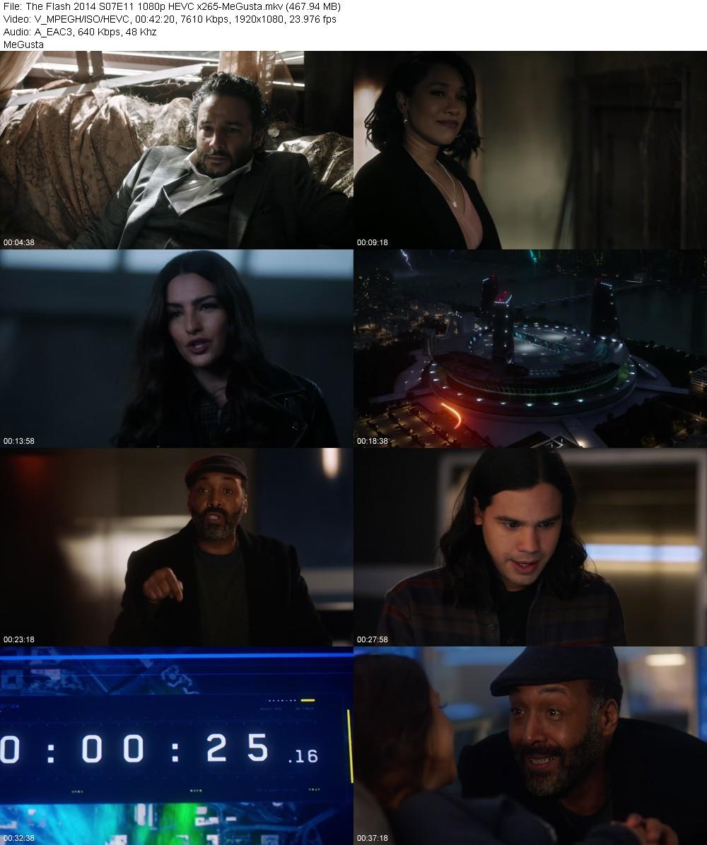 The Flash 2014 S07E11 1080p HEVC x265-MeGusta