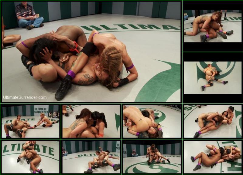 DragonLily, Rain DeGrey, Lyla Storm, Yasmine Loven ~ Ultimate Surrender ~ UltimateSurrender.com/Kink.com ~ HD 720p