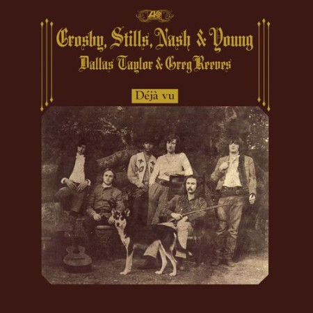 Crosby, Stills, Nash & Young - Déjà Vu (50th Anniversary Deluxe Edition) (4CD) (2021)