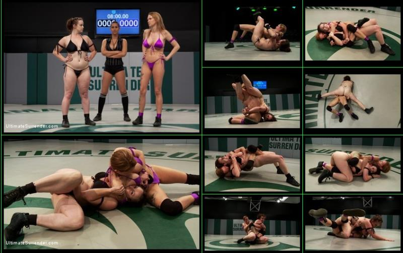 Isis Love, Rain DeGrey  Bella Rossi - Two Veterans Face Eachother in a Brutal Rematch!!! [UltimateSurrender.com / Kink.com / HD 720p]