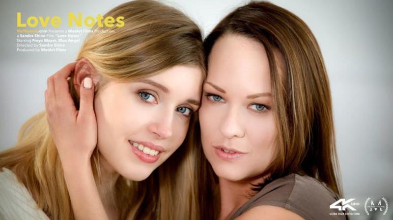 Blue Angel, Freya Mayer - Love Notes [HD/720p/677.5 Mb] VivThomas.com