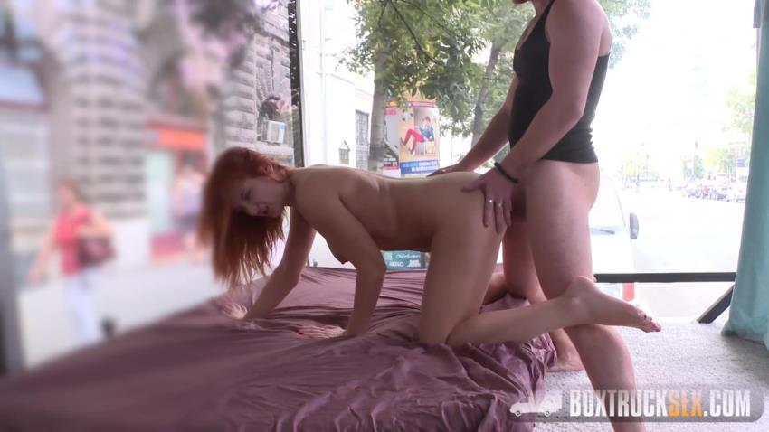 BoxTruckSex.com: Eva Berger - Eva Berger Strips off her Clothes for Cash [HD 720p] (1.65 GB) - Jan 30, 2017