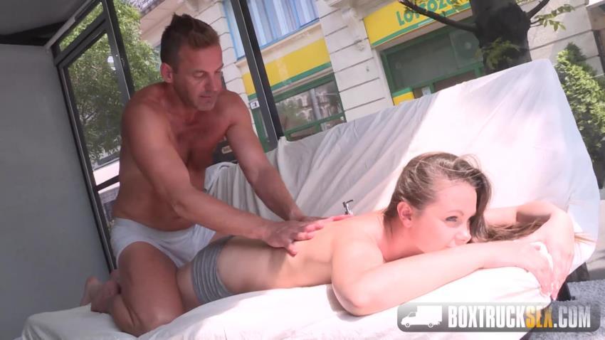 BoxTruckSex.com: Liza Shay - Liza Shay gets a pussy massage [HD 720p] (1.55 GB) - Oct 22, 2016