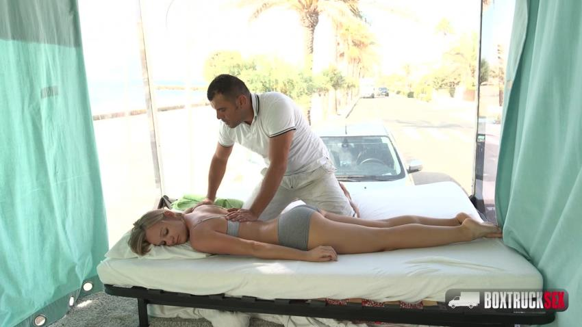 BoxTruckSex.com: Lucette Nice - Lucette Nice gets an invitation for free massage in Barcelona [HD 720p] (1.93 GB) - Jan 30, 2018