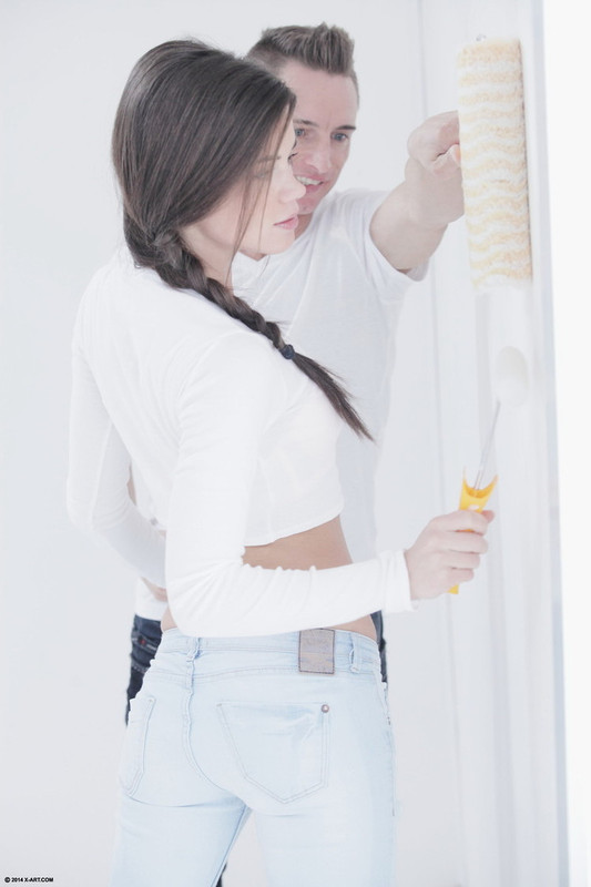 Caprice - Paint Me White (2021 X-Art.com) [FullHD   1080p  851.79 Mb]