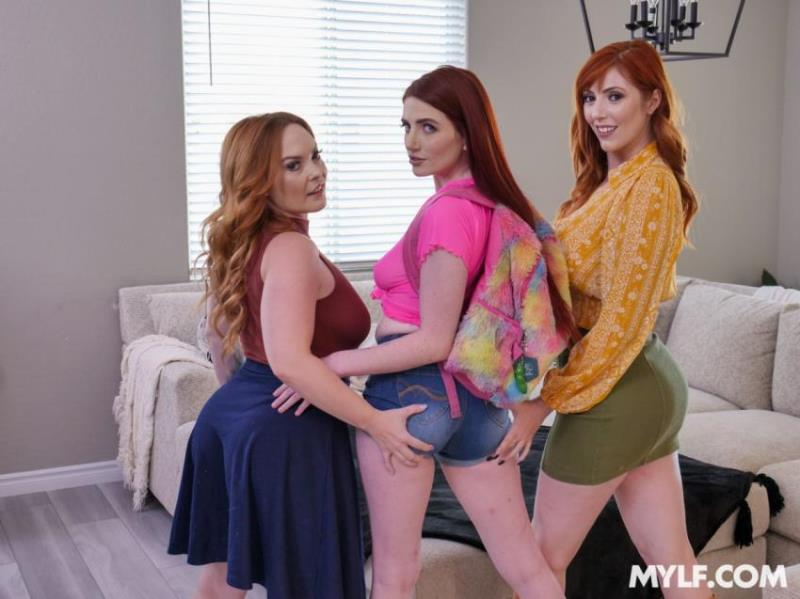 Dyked.com/TeamSkeet.com: Aria Carson, Summer Hart, Lauren Phillips - Be Who You Dress Like [FullHD 1080p] (3.64 Gb)