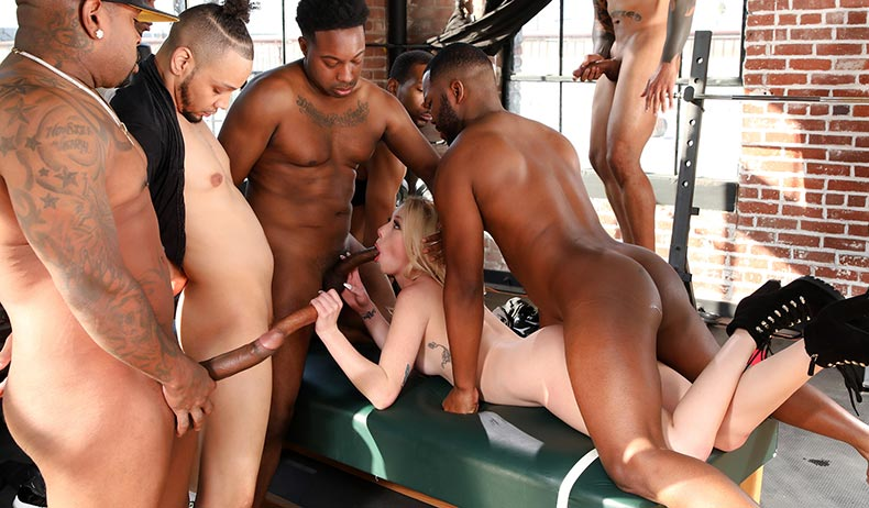 Dixie Lynn - Blacks On Blondes [BlacksOnBlondes.com / DogFartNetwork.com / FullHD 1080p]