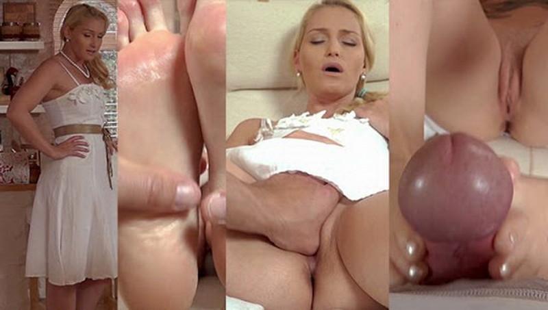 KathiaNobiliGirls/Clips4Sale: Kathia Nobili - Good boy like you deserve mommys foot job!!! [FullHD 1080p] (1.16 GB)