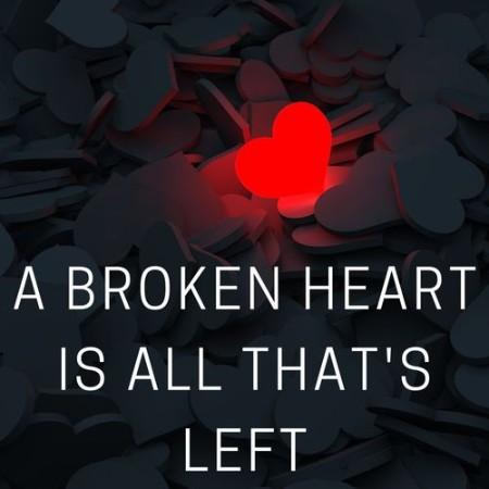 VA - A broken heart is all that's left (2021)