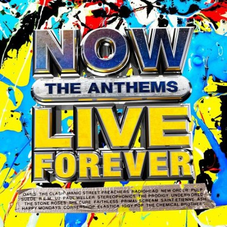 NOW Live Forever  The Anthems (4CD) (2021)