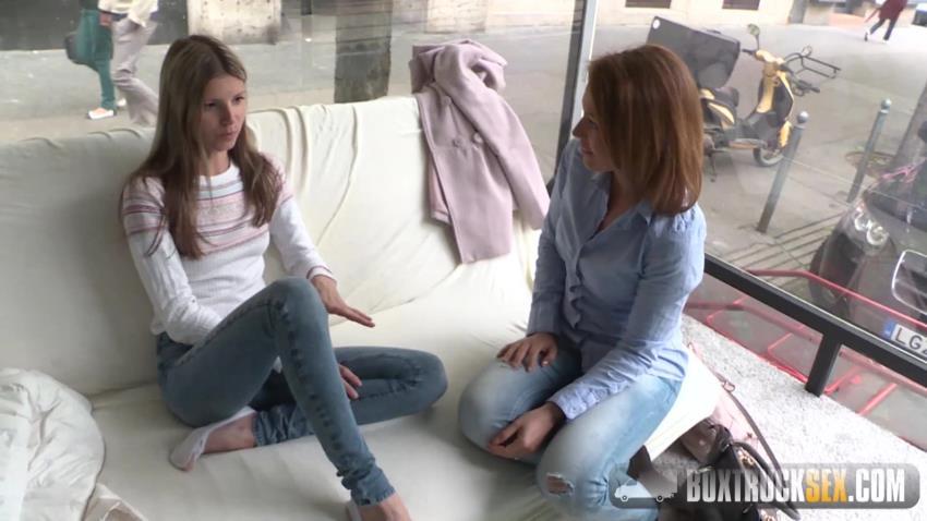 BoxTruckSex.com: Szilvia Lauren - Szilvia Lauren surprised by the lesbian model agent [HD 720p 1.5 GB] - Sep 24, 2016
