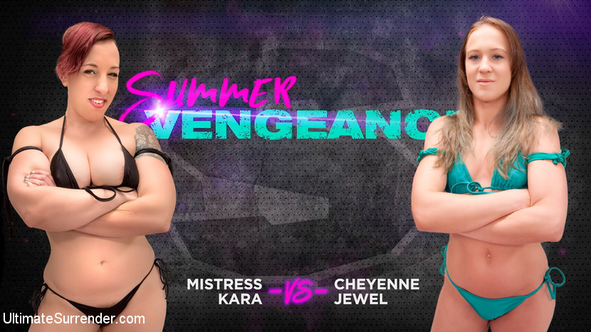 Ultimatesurrender.com/Kink.com: Cheyenne Jewel, Mistress Kara - Cheyenne Jewel vs Mistress Kara [SD 540p] (602 MB) - August 22, 2018