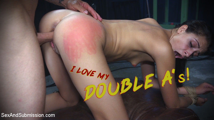 SexandSubmission.com/Kink.com: Derrick Pierce, Avi Love - I Love My Double As! [SD 540p] (628 MB) - August 17, 2018