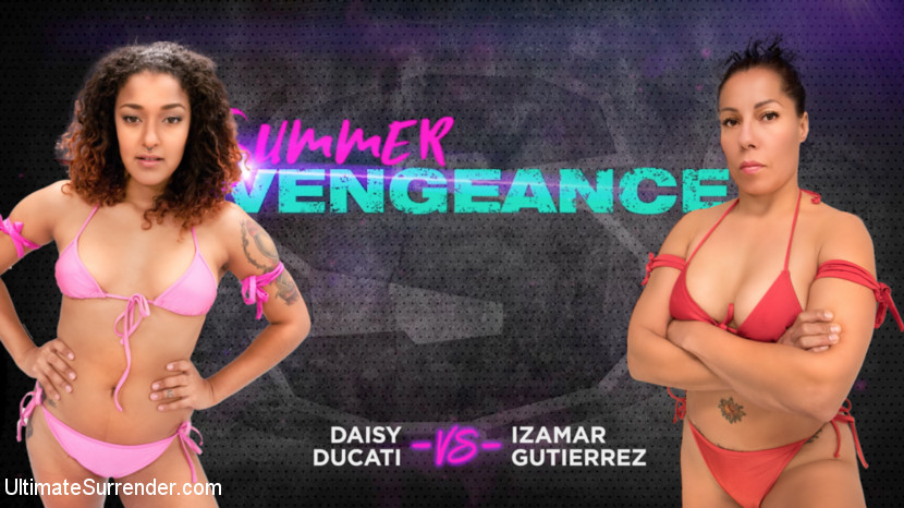 Ultimatesurrender.com/Kink.com: Izamar Gutierrez, Daisy Ducati - Izamar Gutierrez vs Daisy Ducati [SD 540p] (498 MB) - July 25, 2018