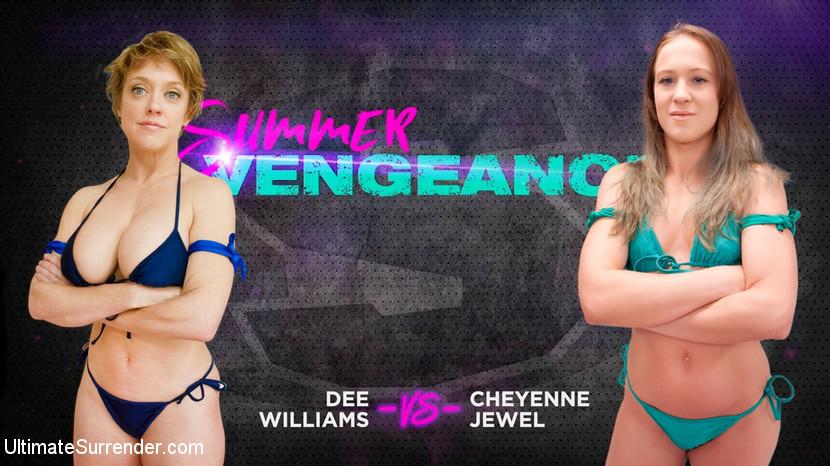 Ultimatesurrender.com/Kink.com: Dee Williams, Cheyenne Jewel - Dee Williams vs Cheyenne Jewel [SD 540p] (560 MB) - August 15, 2018