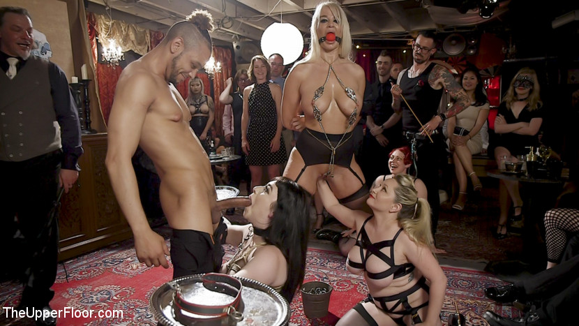 TheUpperFloor.com/Kink.com: Aiden Starr, Donny Sins, London River, Amilia Onyx - The Anal Submissive MILF And The Big-Titted 19 Year Old [SD 540p] (870 MB) - August 10, 2018