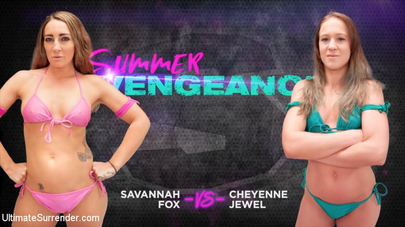 Ultimatesurrender.com/Kink.com: Savannah Fox, Cheyenne Jewel - Savannah Fox vs Cheyenne Jewel [SD 540p] (500 MB) - August 1, 2018