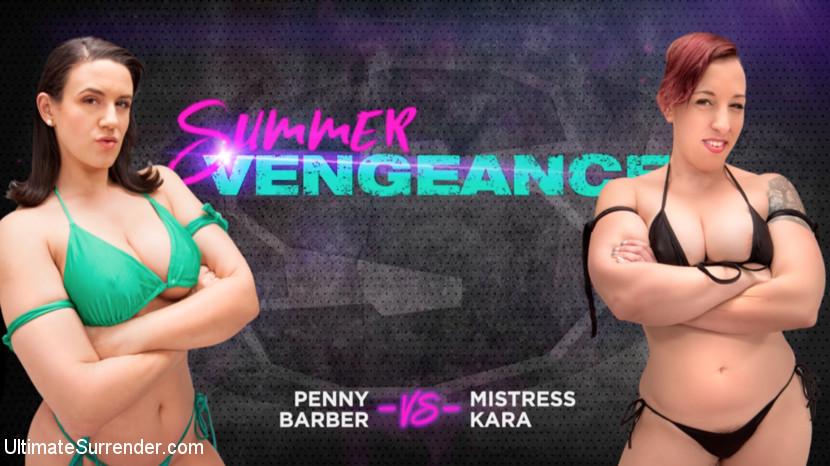 Ultimatesurrender.com/Kink.com: Penny Barber, Mistress Kara - Penny Barber vs Mistress Kara [SD 540p] (557 MB) - July 11, 2018
