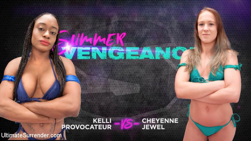 Ultimatesurrender.com/Kink.com: Cheyenne Jewel, Kelli Provocateur - Kelli Provocateur vs Cheyenne Jewel [SD 540p] (512 MB) - July 4, 2018