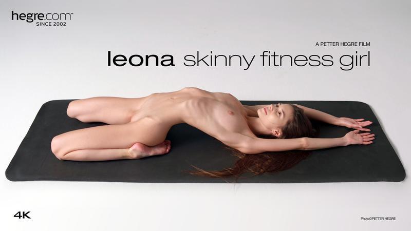 Hegre.com: Leona - Leona Skinny Fitness Girl [FullHD 1080p] (664.6 Mb)