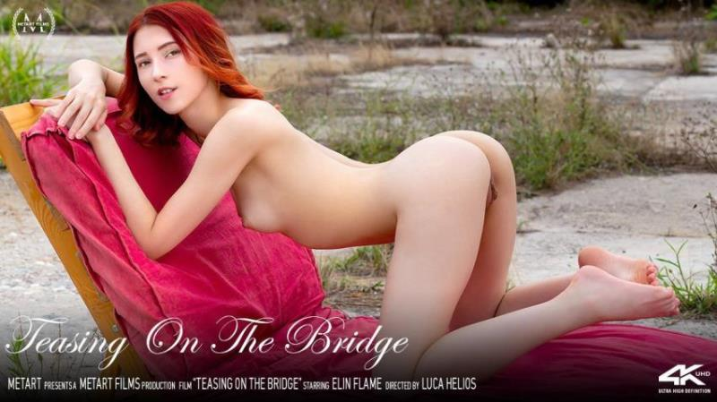 MetArt.com: Elin Flame - Teasing On The Bridge [FullHD 1080p] (348.62 Mb)