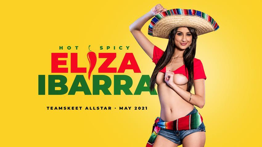 TeamSkeetAllStars.com/Teamskeet.com: Eliza Ibarra, Donnie Rock - Hot wings, Spicy things [HD 720p] (1.65 GB) - May 5, 2021