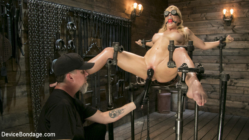 DeviceBondage.com/Kink.com: Cherie DeVille, The Pope - Athletic MILF Fuck Toy Cherie Deville Punished in Bondage and Sybian!! [SD 540p] (549 MB) - September 21, 2017