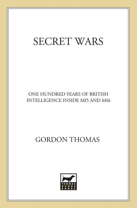 Secret Wars by Gordon Thomas